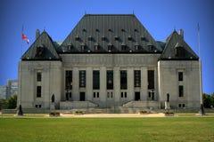 δικαστήριο του Καναδά ανώτατο στοκ εικόνες
