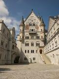 Δικαστήριο του Neuschwanstein Castle Στοκ φωτογραφίες με δικαίωμα ελεύθερης χρήσης