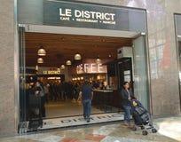 Δικαστήριο NYC Tom Wurl LE District Food Στοκ Φωτογραφία