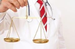 δικαστής γιατρών Στοκ Εικόνα