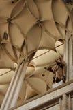 Δικτυωτός θόλος του καθεδρικού ναού σε Cesky Stenberg στοκ εικόνα