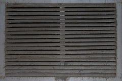 Δικτυωτό πλέγμα υποβάθρου μιας παλαιάς εγκαταλειμμένης κουκούλας εξάτμισης στοκ φωτογραφία με δικαίωμα ελεύθερης χρήσης