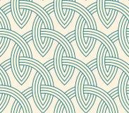 Δικτυωτό πλέγμα - άνευ ραφής σχέδιο Στοκ Φωτογραφίες