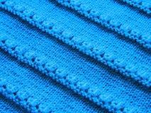 Δικτυωτό σχέδιο με το πλέξιμο των βελόνων Στοκ φωτογραφία με δικαίωμα ελεύθερης χρήσης