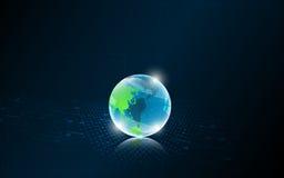 Δικτύωσης παγκόσμιο καινοτομίας τεχνολογίας σχέδιο υποβάθρου έννοιας αφηρημένο Στοκ φωτογραφίες με δικαίωμα ελεύθερης χρήσης