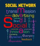 δικτύωση κοινωνική διανυσματική απεικόνιση
