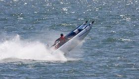 Διογκώσιμη βάρκα στοκ εικόνα με δικαίωμα ελεύθερης χρήσης