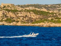 Διογκώσιμη βάρκα Στοκ Εικόνα