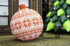 Διογκώσιμη διακόσμηση Χριστουγέννων Στοκ φωτογραφίες με δικαίωμα ελεύθερης χρήσης