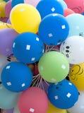 Διογκώσιμο μπαλόνι, φωτογραφία στο άσπρο υπόβαθρο Στοκ εικόνες με δικαίωμα ελεύθερης χρήσης
