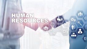 Διοικητική έννοια ανθρώπινων δυναμικών ωρ. Τα ανθρώπινα δυναμικά συγκεντρώνουν, προσοχή πελατών και υπάλληλοι ελεύθερη απεικόνιση δικαιώματος