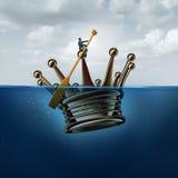 Διοικητική στρατηγική ηγεσίας απεικόνιση αποθεμάτων