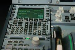 Διοικητικός υπολογιστής πτήσης Στοκ φωτογραφία με δικαίωμα ελεύθερης χρήσης