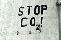 διοξείδιο του άνθρακα Στοκ Φωτογραφία
