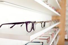 Διορθωτικά γυαλιά ματιών Στοκ Εικόνα