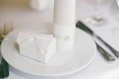 Διορισμοί γαμήλιων πινάκων στοκ εικόνα