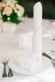 Διορισμοί γαμήλιων πινάκων στοκ φωτογραφία