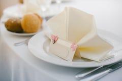 Διορισμοί γαμήλιων πινάκων στοκ φωτογραφία με δικαίωμα ελεύθερης χρήσης