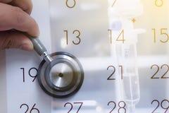 Διορισμός γιατρών στοκ εικόνα με δικαίωμα ελεύθερης χρήσης