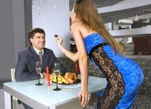 Διορισμός στο εστιατόριο στοκ φωτογραφία με δικαίωμα ελεύθερης χρήσης