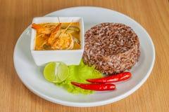 Διοσκορέα Kung του Tom (ταϊλανδική κουζίνα) Στοκ φωτογραφίες με δικαίωμα ελεύθερης χρήσης