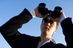 διοφθαλμικό άτομο Στοκ φωτογραφία με δικαίωμα ελεύθερης χρήσης