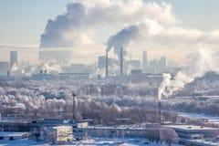 Διοχέτευση με σωλήνες της Μόσχας Στοκ εικόνες με δικαίωμα ελεύθερης χρήσης