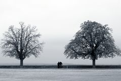 διπλάσιο ζευγών Στοκ φωτογραφία με δικαίωμα ελεύθερης χρήσης