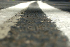 διπλές γραμμές Στοκ φωτογραφία με δικαίωμα ελεύθερης χρήσης