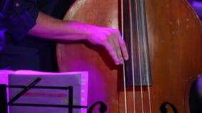 Διπλές πέρκες παιχνιδιού ατόμων βιβλίων μουσικής απόθεμα βίντεο