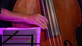 Διπλές πέρκες παιχνιδιού χεριών βιβλίων μουσικής απόθεμα βίντεο