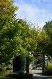 Διπλή πύλη Αϊντάχο κήπων Στοκ εικόνες με δικαίωμα ελεύθερης χρήσης