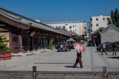 Διπλανός δρόμος Datong στοκ φωτογραφίες με δικαίωμα ελεύθερης χρήσης