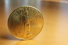 διπλός αετός νομισμάτων χρυσός εμείς Στοκ εικόνες με δικαίωμα ελεύθερης χρήσης