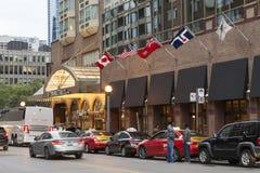 Διπλό ξενοδοχείο δέντρων στο Τορόντο, Καναδάς Στοκ φωτογραφία με δικαίωμα ελεύθερης χρήσης