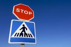 διπλό σήμα Στοκ φωτογραφία με δικαίωμα ελεύθερης χρήσης