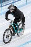 διπλό teva slalom ποδηλάτων στοκ φωτογραφίες