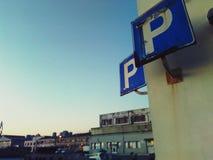 Διπλάσιο στάθμευσης στοκ εικόνες