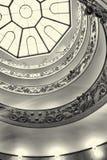 Διπλή σπειροειδής σκάλα σε Βατικανό, Ιταλία Στοκ εικόνες με δικαίωμα ελεύθερης χρήσης