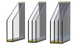 Διπλή τριπλή και τετραπλάσια μονωμένη παράθυρα τοποθέτηση υαλοπινάκων τρισδιάστατος δώστε, απομονωμένος στο άσπρο υπόβαθρο Στοκ φωτογραφία με δικαίωμα ελεύθερης χρήσης