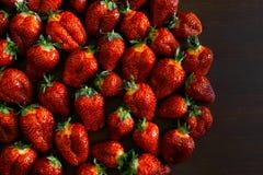 Διπλή φράουλα μούρων Στοκ φωτογραφίες με δικαίωμα ελεύθερης χρήσης
