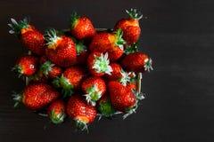 Διπλή φράουλα μούρων Στοκ Εικόνες