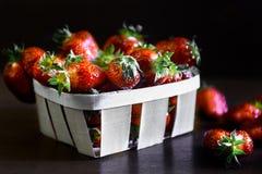 Διπλή φράουλα μούρων Στοκ Φωτογραφίες