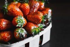 Διπλή φράουλα μούρων Στοκ Φωτογραφία
