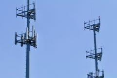 Διπλοί πύργοι κυττάρων Στοκ Φωτογραφία