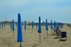 Διπλωμένες ομπρέλες Στοκ Εικόνα
