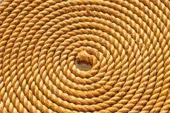 Διπλωμένος σχοινί έλικας κοντά επάνω στοκ φωτογραφία με δικαίωμα ελεύθερης χρήσης