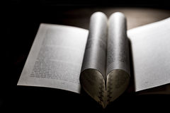 Διπλωμένο βιβλίο Στοκ Φωτογραφία