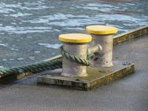 Διπλός στυλίσκος πρόσδεσης Στοκ φωτογραφία με δικαίωμα ελεύθερης χρήσης