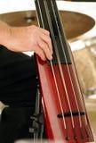Διπλό βαθύ βιολοντσέλο κιθάρων Στοκ Εικόνες